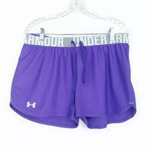 Under Armour Womens L Shorts Activewear Loose Fit